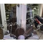 A-Merk Windscherm Isotta hoog model SYM MIO Smoke
