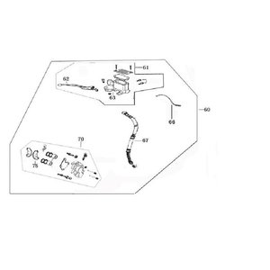 AGM VX50 Remcilinder/reservoir 63