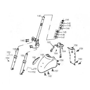 AGM New Flash Schokdemper voorzijde rechts (149)