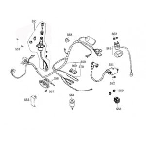 AGM New Flash Kabelboom (550)