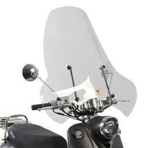 AGM New Flash Windscherm Isotta hoog model blanco New Flash/Pico/Santini