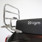 AGM VX50 Klaprek achterdrager chroom VX50/VX50S
