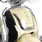 AGM Retro Valbeugelset chroom voor de Retro scooters