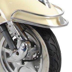 AGM Retro Spatbordbeugel chroom voor de Retro scooters