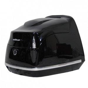 AGM Topkoffer Retro AGM glans zwart voor diverse modellen