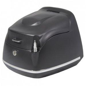 AGM Topkoffer Retro AGM  mat zwart voor diverse modellen