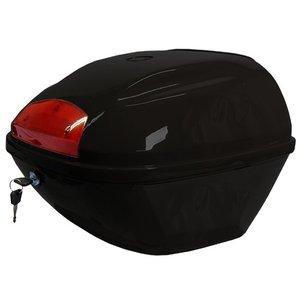 AGM Topkoffer glans zwart voor VX/Joy/Ape