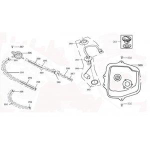 AGM VX125 Benzine vacuum pomp 286