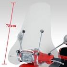 Piaggio Windschutzscheibe Biondi hohes Modell weißem Rauch unten - Copy - Copy