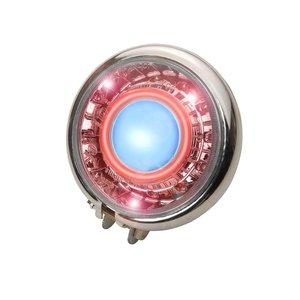 A-Merk Koplamp Xenon met Anger Eye rood