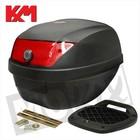 A-Merk KXM RR Topcase 28L schwarz mit Schlitten