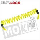 A-Merk MKX warning cord Disc yellow 150cm