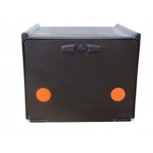 A-Merk Pizzakoffer zwart dubbel geïsoleerd 90 liter