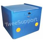 A-Merk Pizzakoffer blauw dubbel geïsoleerd 90 liter