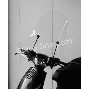 A-Merk Windscherm voor de Piaggo Zip Blanco