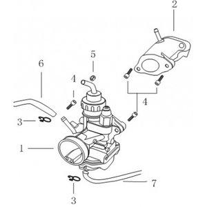 AGM Cafe Racer 2014 Carburateur (1)