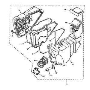 AGM Cafe Racer 2014 Luchtfilter element (8)