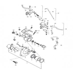 AGM Cafe Racer 2014 Koppeling kabel (38)
