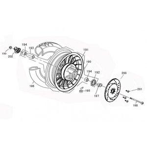 AGM VX50 S KM teller aandrijver - worm (202)