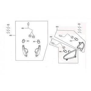 AGM VX50 S Knipperlicht rechts voor (481)