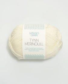 Tynn Merino Ull - Nr. 1015