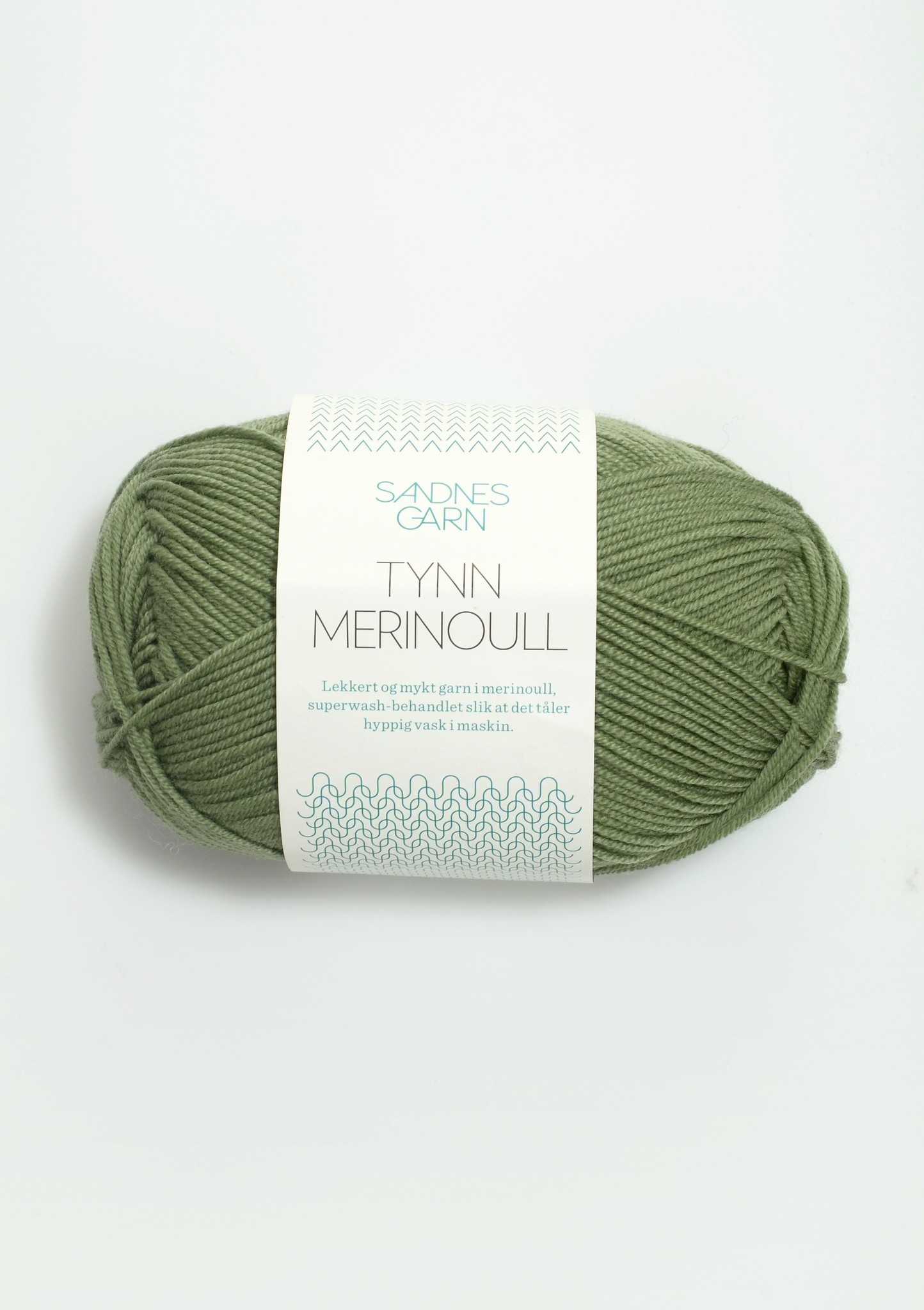 Sandnes Tynn Merino Ull - 8543 - Gron