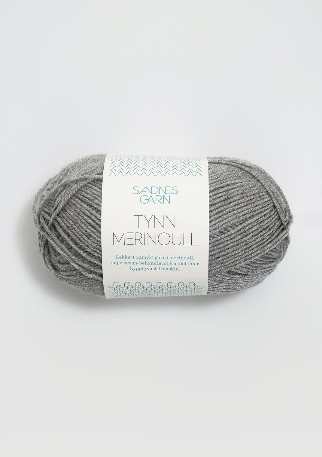 Sandnes Tynn Merino Ull - 1042 - Gramelert