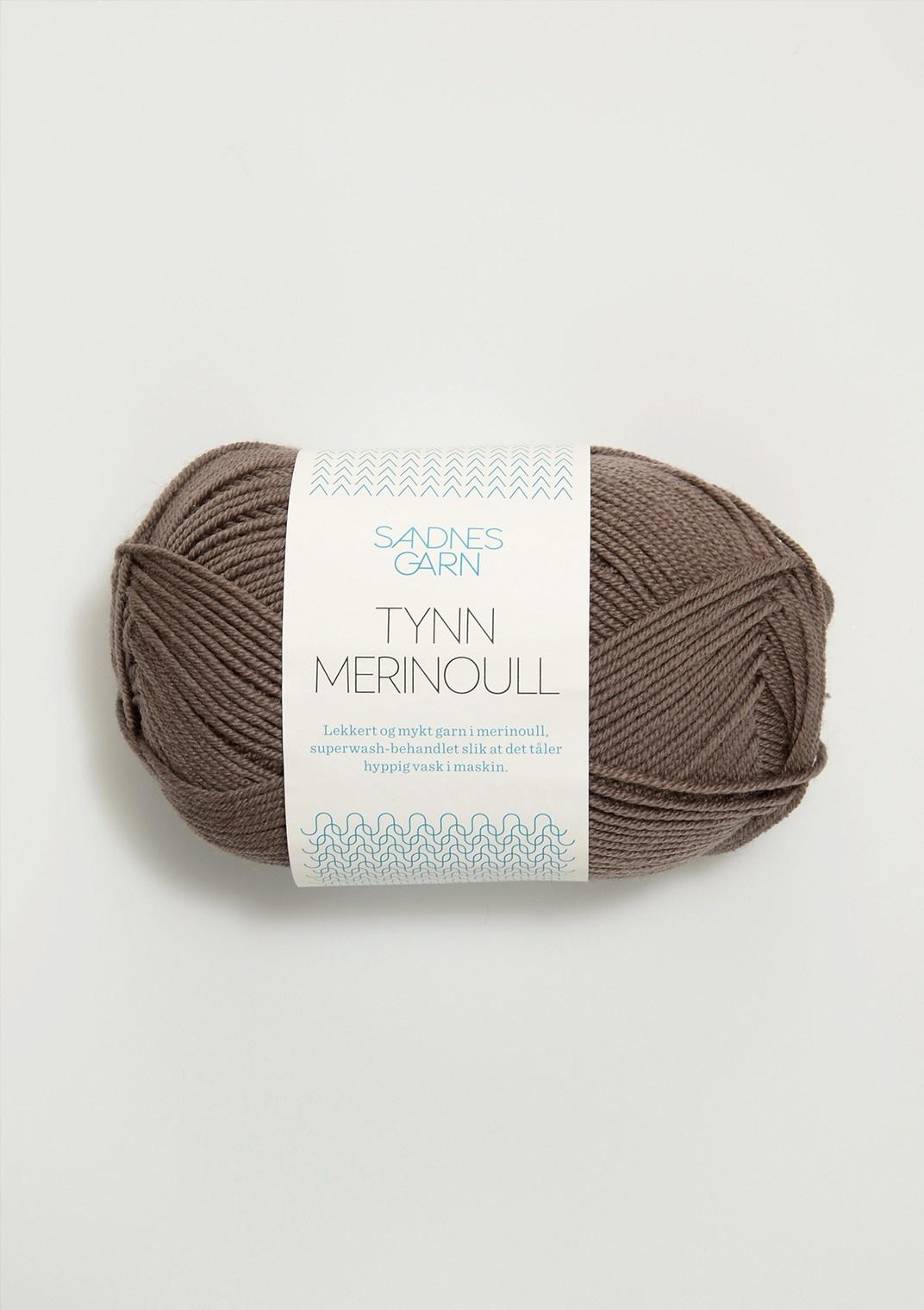 Sandnes Tynn Merino Ull - 3161 - Mellobrun