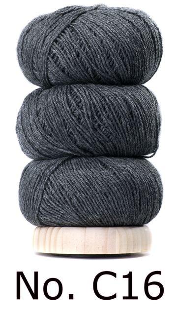 Geilsk Bomuld Og Uld - C16 -  Dark grey