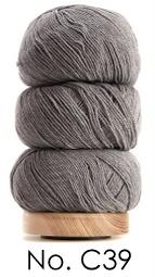 Geilsk Bomuld Og Uld - C39 -  Grey