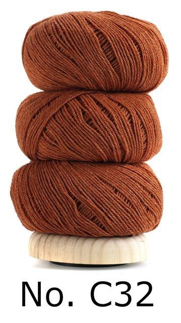Geilsk Bomuld Og Uld - C32 - Orange