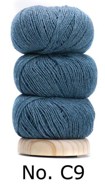 Geilsk Bomuld Og Uld - C09 - Greenish-blue