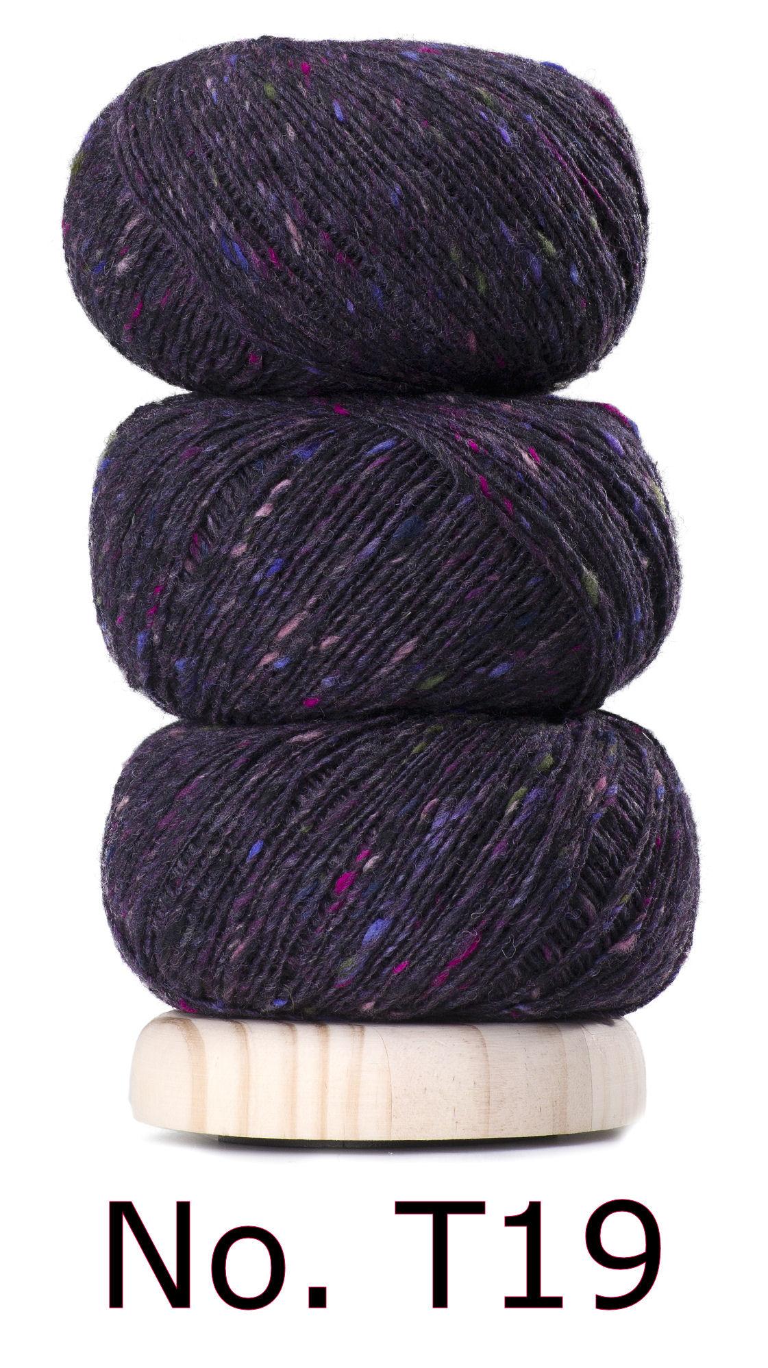 Geilsk Geilsk Tweed - 019 - Mork lila