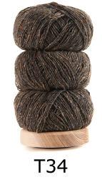 Geilsk Geilsk Tweed - 034 - Laekkerbrun