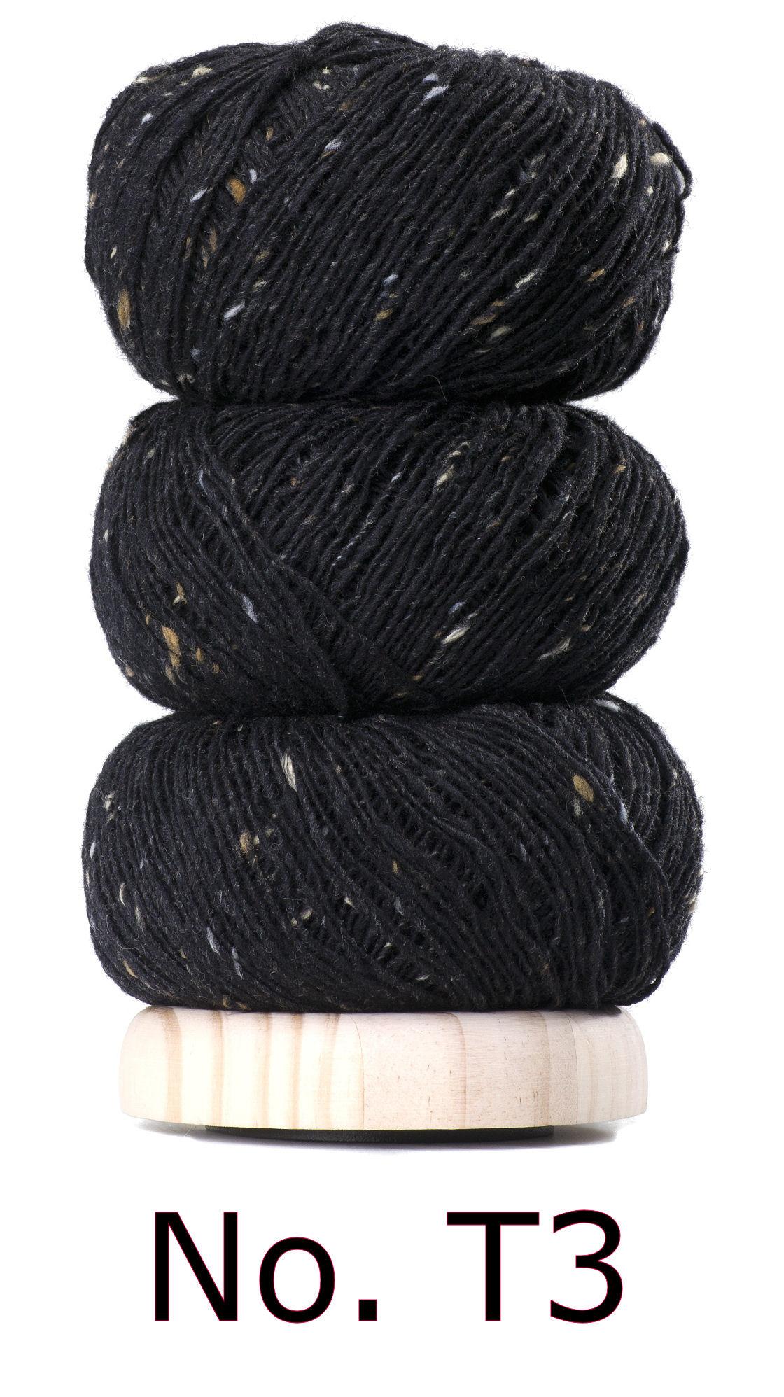 Geilsk Geilsk Tweed - 003 - Sort