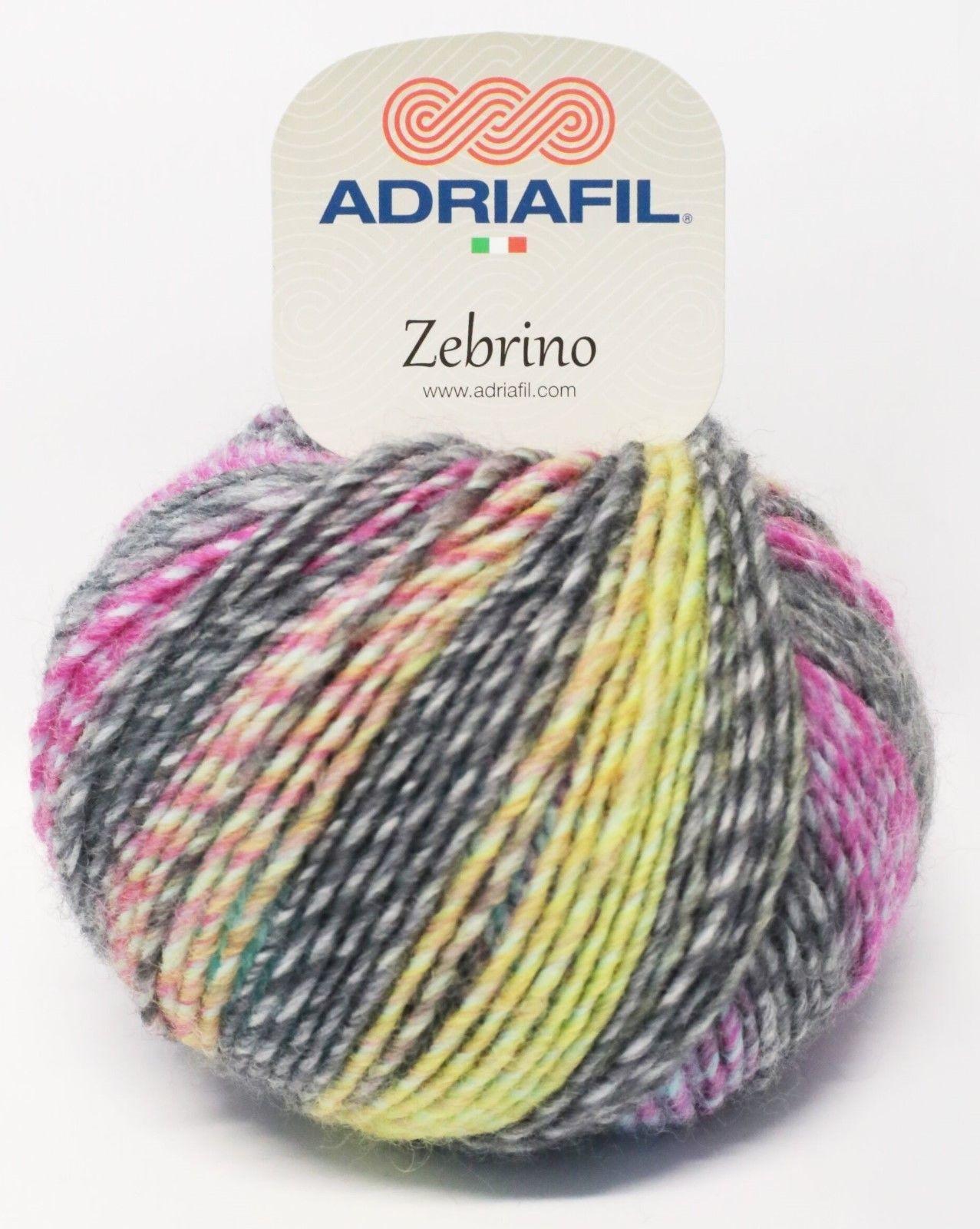 Adriafil Adriafil - Zebrino - 70 - Regenboog