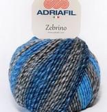Adriafil Adriafil - Zebrino - 62 - Blauw