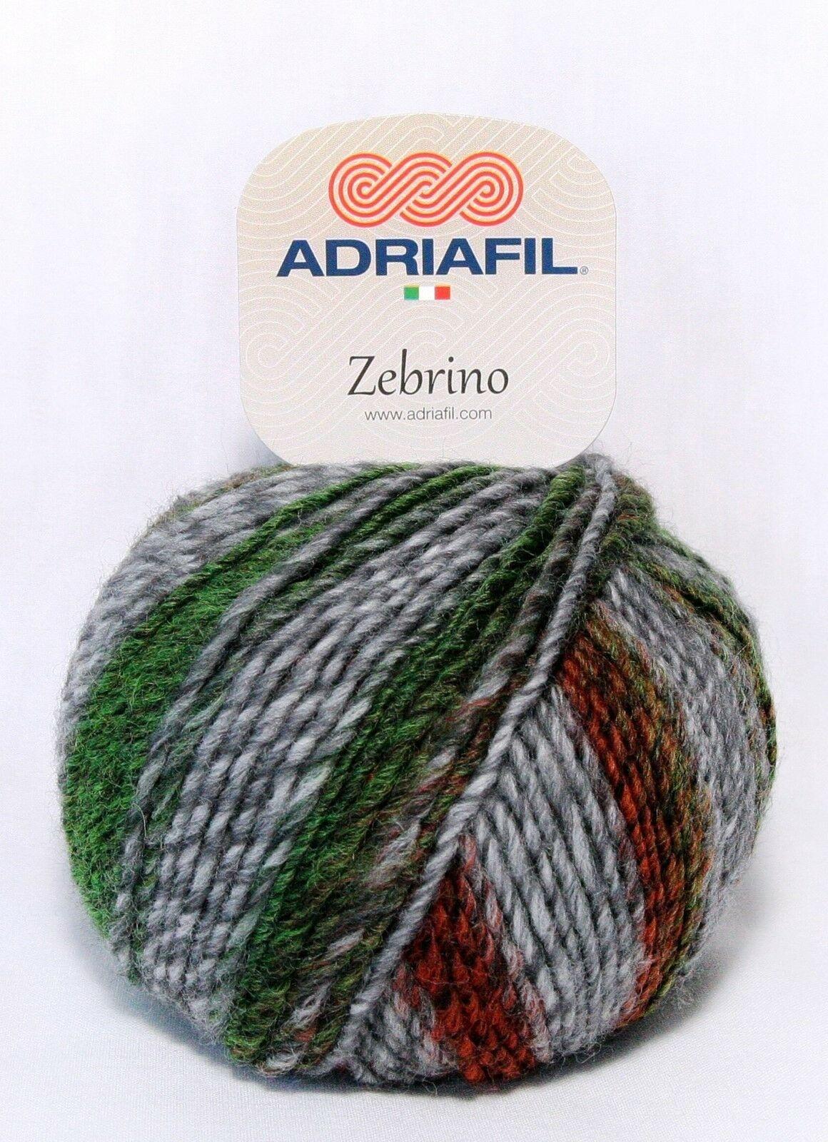 Adriafil Adriafil - Zebrino - 64 - Rood/Groen