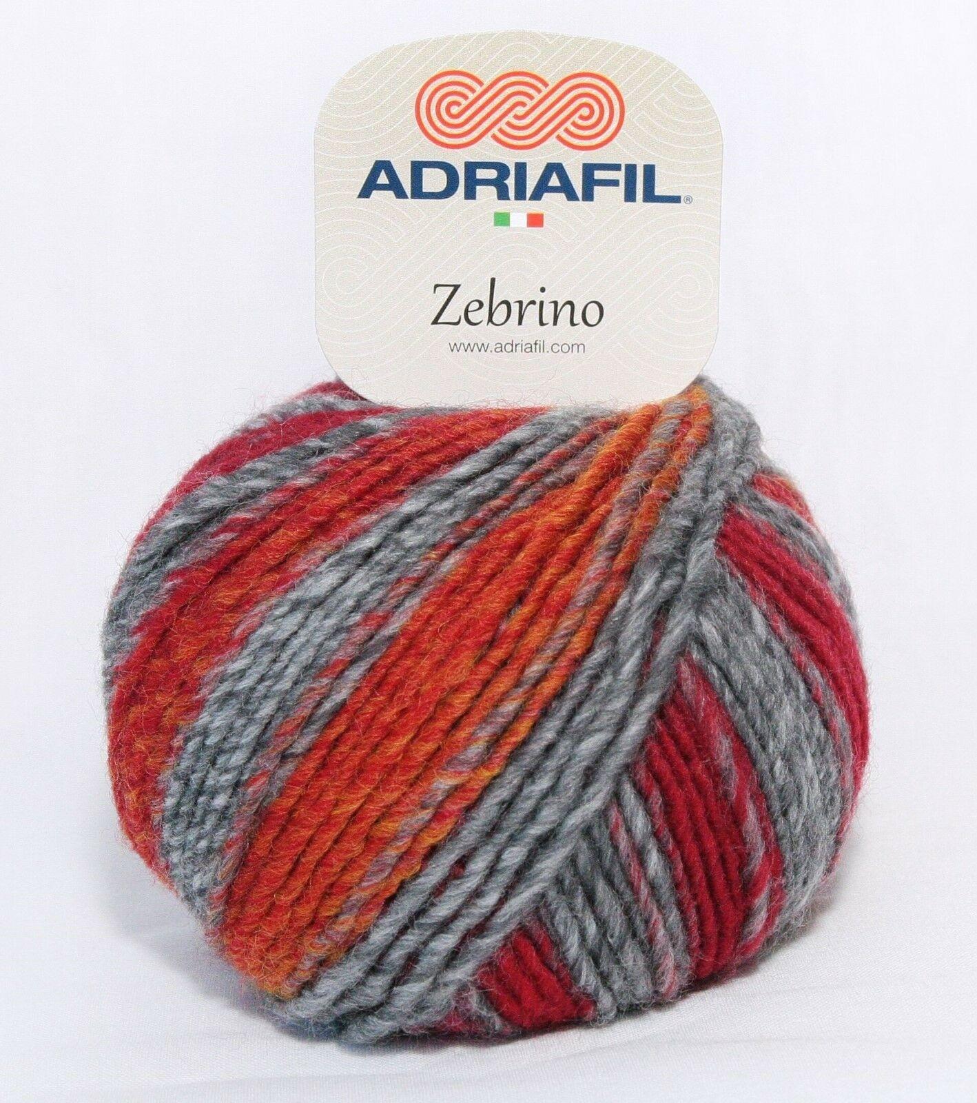 Adriafil Adriafil - Zebrino - 68 - Rood
