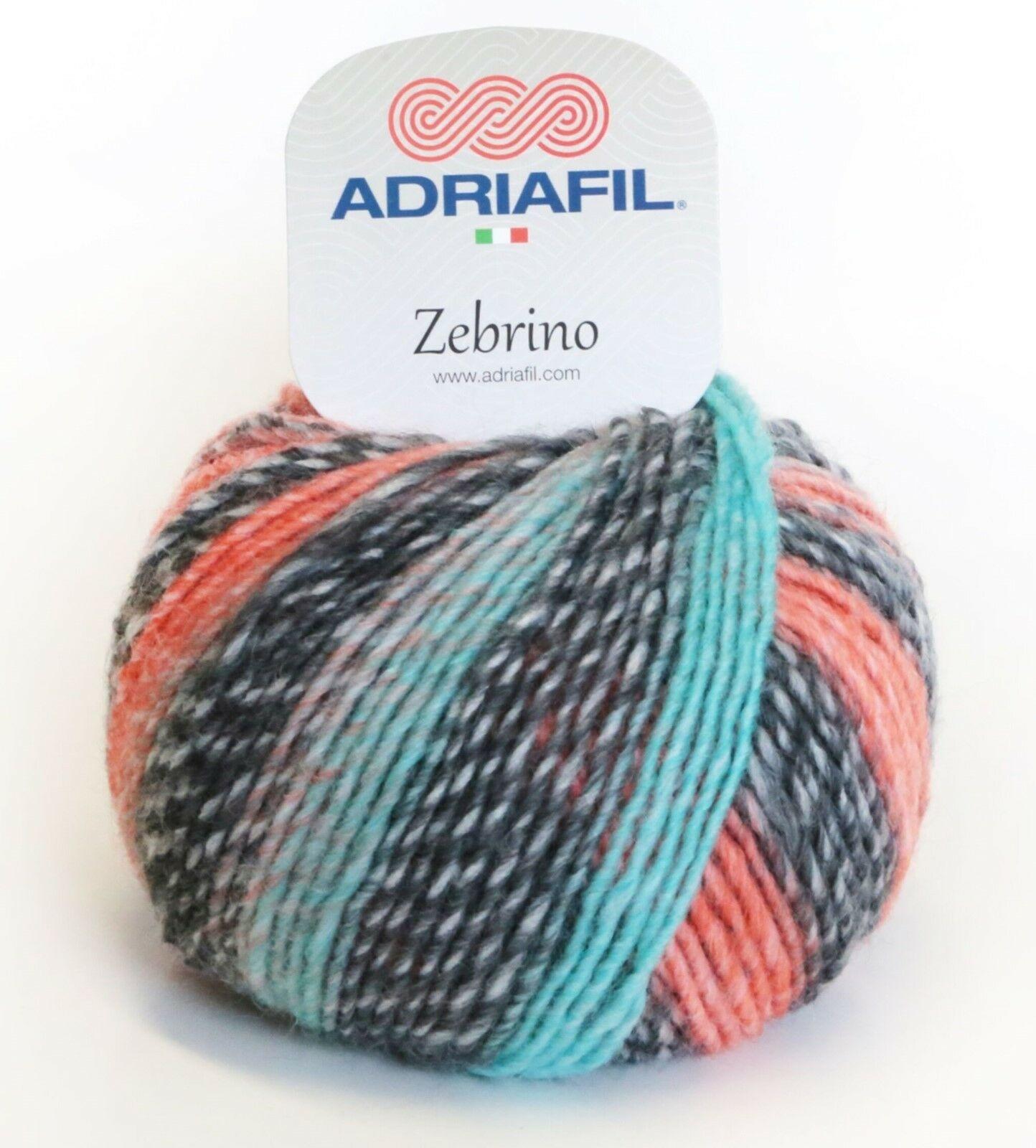 Adriafil Adriafil - Zebrino - 69 - Aqua-Zalm