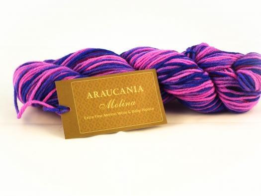 Araucania Molina - 110 - Blauw/Roze
