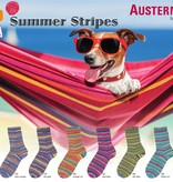 Austermann Step Stripes - 281 - Pink/Blauw