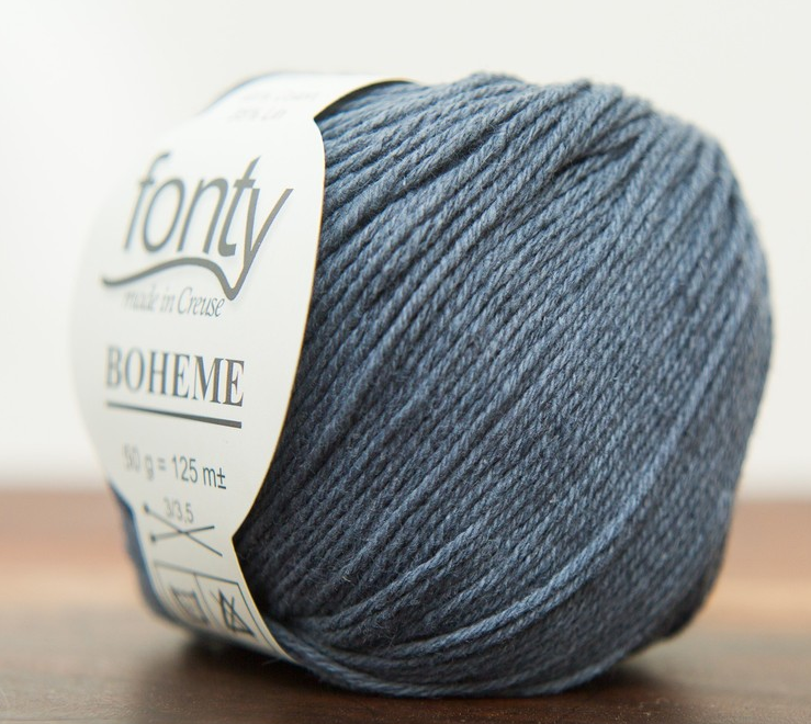 Fonty Boheme - 362 - Antraciet