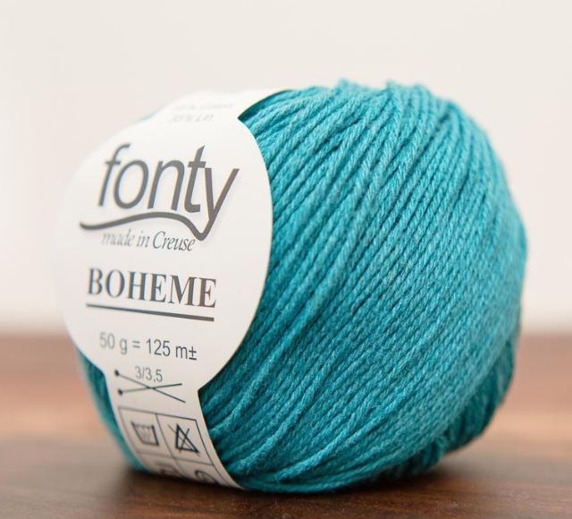 Fonty Boheme - 361 - Aqua