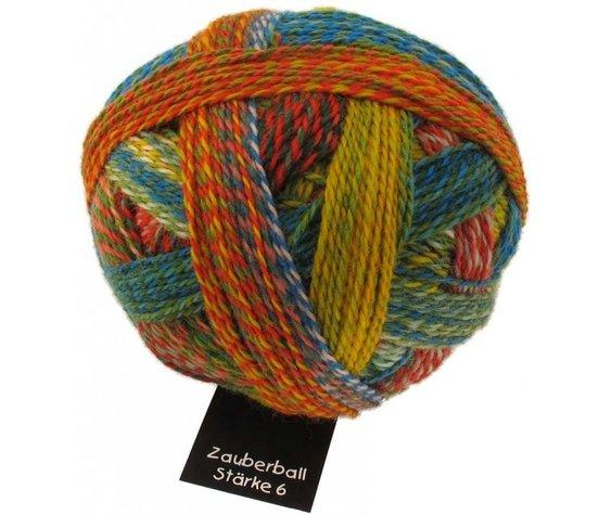 Schoppel Wolle Zauberball Stärke 6 - Nr. 1701