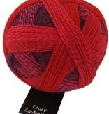 Schoppel Wolle Zauberball Crazy - 2095 - Indisch Rosa