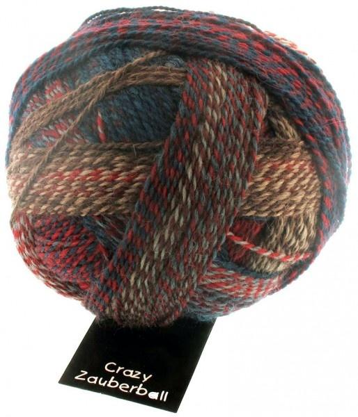 Schoppel Wolle Zauberball Crazy - 1507 - Herbstwind