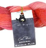Schoppel Wolle Admiral Cat Print - 2162 - Sneeuwwitje/Rozenrood