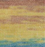 LanaGrossa Silkhair Print - 321 - Bruin/Aqua