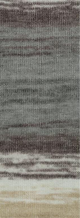LanaGrossa Silkhair Print - 342 - Bruin/Beige